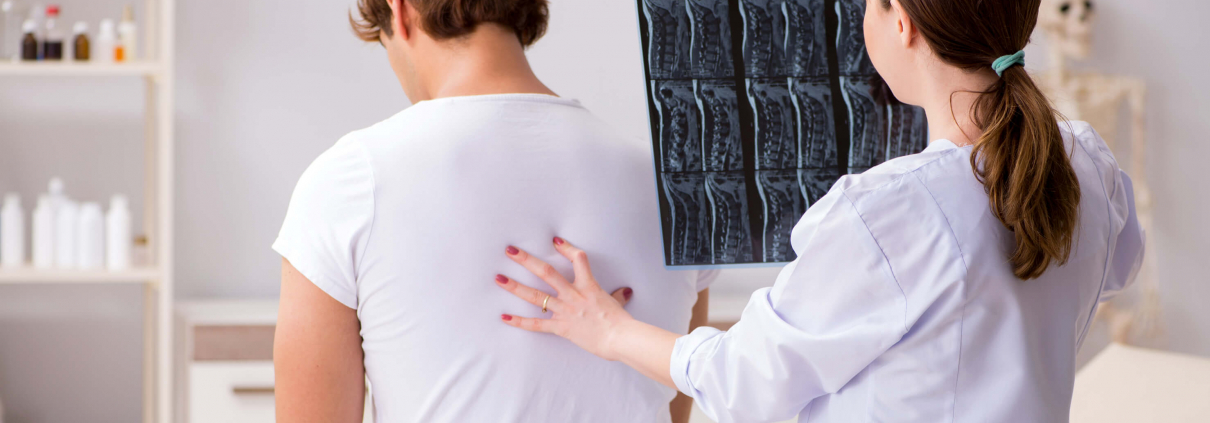 patient visits chiropractor for back pain after a car accident in Bradenton, Florida