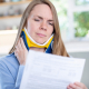 woman wonders how long does whiplash last after being injured in a car accident